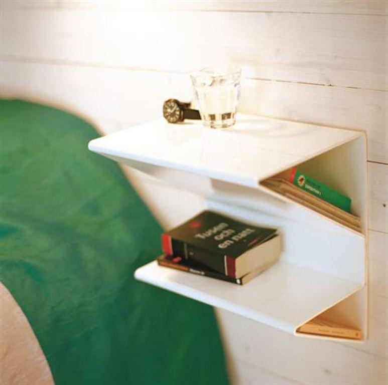 10 Super Chic Floating Bedside Table Designs for the Bedroom Rilane
