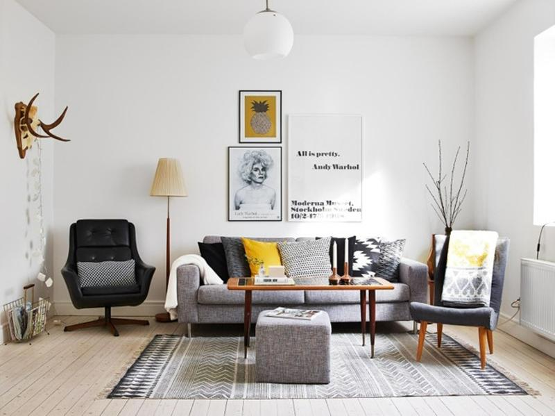 Good Cool Scandinavian Living Room. Image Source: Decor Dots Part 11