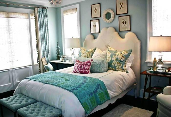 furniture elegant for beautiful bedroom for teenage girl | 15 Sweet Colored Teen's Bedroom - Rilane