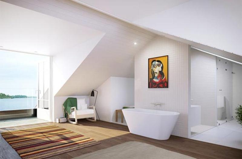 Dramatic Scandinavian Bathroom. 30 Superb Scandinavian Bathroom Design Ideas   Rilane