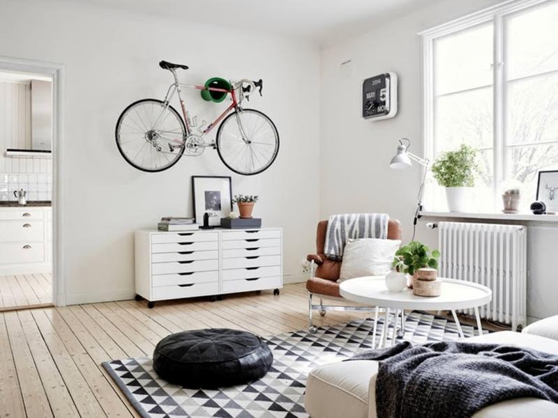 Dynamic Scandinavian Living Room