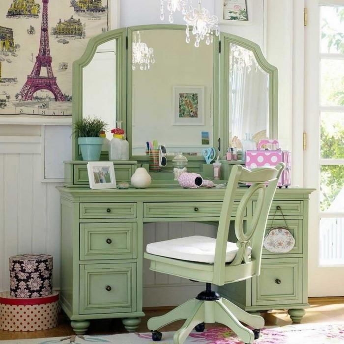 Delightful Upgrades 25 Creative Bedside Lighting Ideas: 10 Absolutely Delightful Little Girl's Dressing Tables