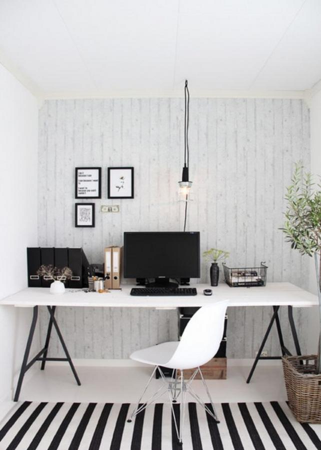 scandinavian home office. cool scandinavian home office o