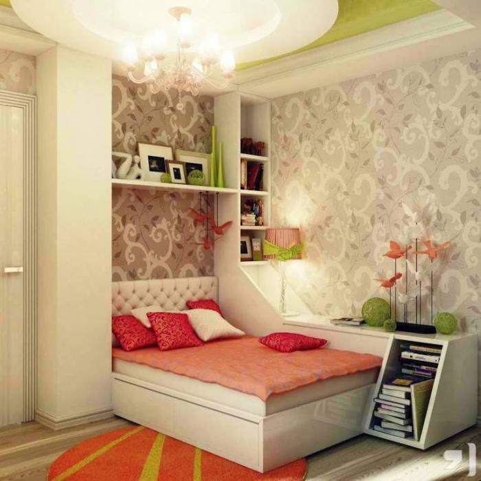 15 Sweet Colored Teen\'s Bedroom - Rilane