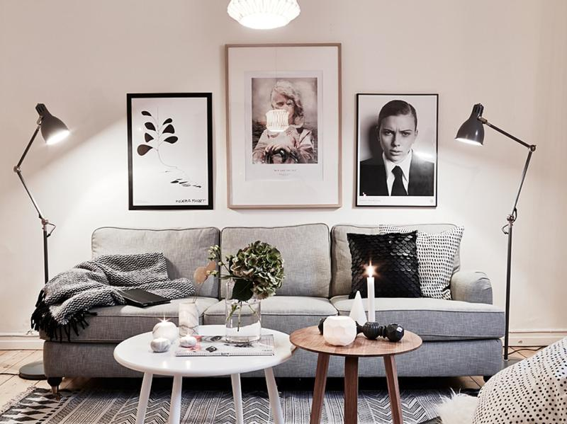 Inviting Scandinavian Living Room Part 55