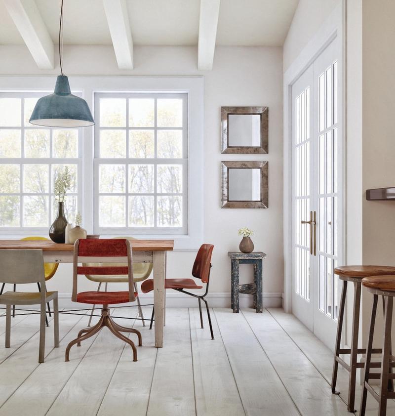 15 Chic Industrial Dining Room Design Ideas - Rilane