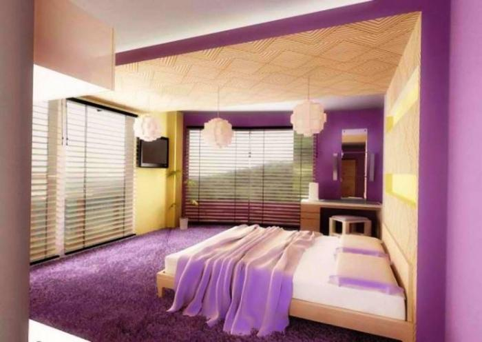 Luxury Purple Peach Themed Bedroom. 15 Sweet Colored Teen s Bedroom   Rilane