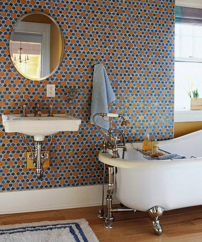 Tiled Bathroom Looks 15 catchy multicolor tiled bathroom designs - rilane