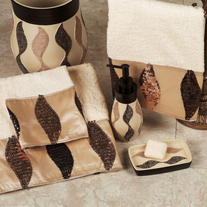 Creative Brown Bathroom Sets Rilane
