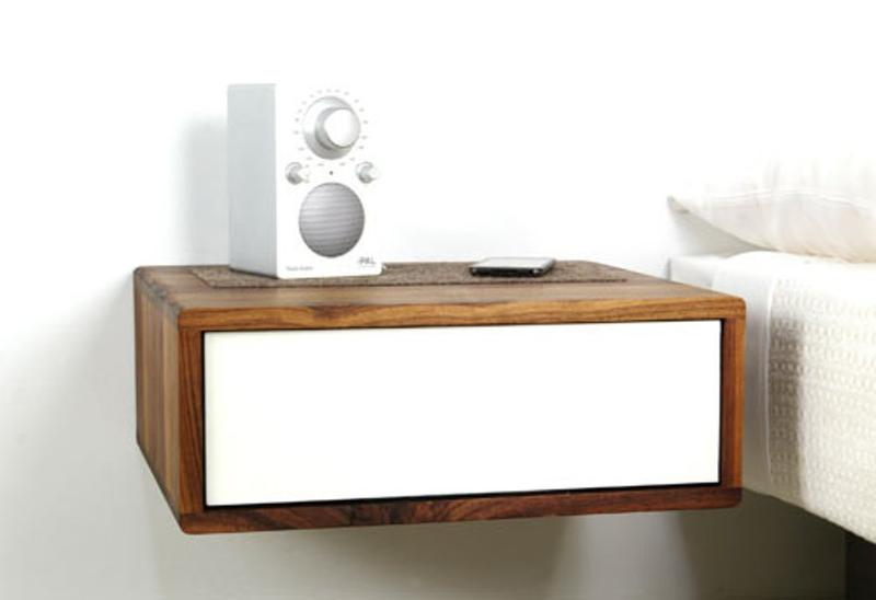 Sleek Floating Bedside Table