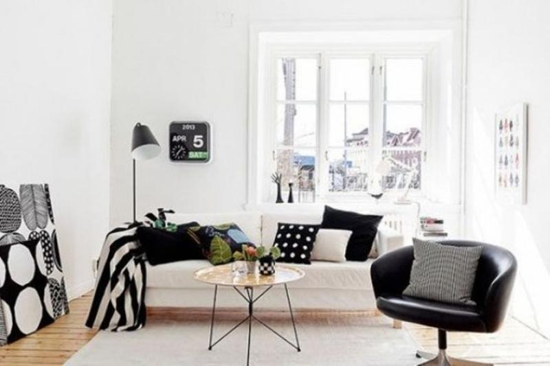 Small Scandinavian Living Room
