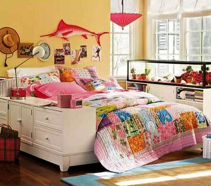 Snazzy Colorful Teenage Bedroom Design