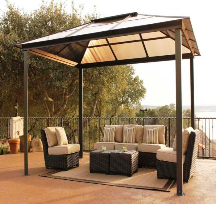 Charming Stunning Outdoor Gazebo Canopy