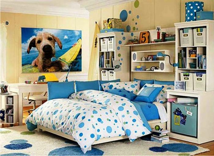 15 Sweet Colored Teen's Bedroom