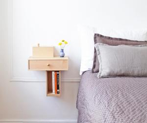 10 Super Chic Floating Bedside Table Designs for the Bedroom