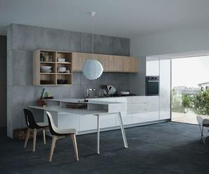 20 Extremely Bold Kitchen Designs With Concrete Wall