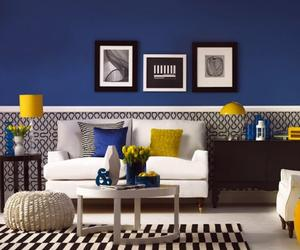 20 Charming Blue and Yellow Living Room Design Ideas