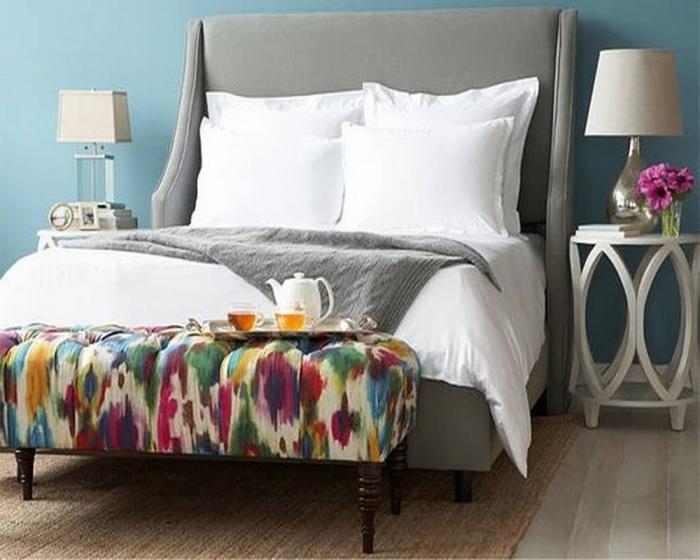 10 captivating and stylish bedroom ottoman designs rilane