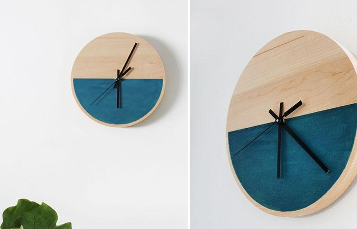 50 DIY Clock Ideas - Rilane
