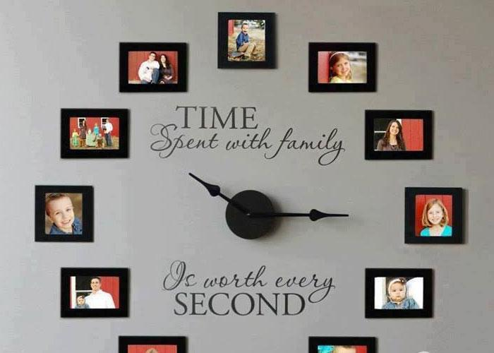 50 diy clock ideas rilane - Homemade wall clock designs ...