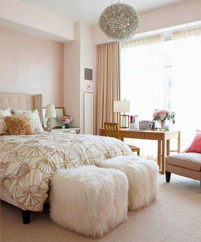 10 Captivating and Stylish Bedroom Ottoman Designs Rilane