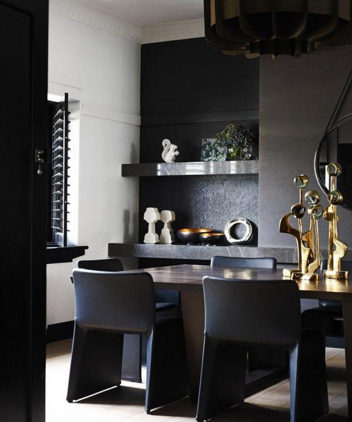 50 Modern Dining Room Designs For The Super Stylish: 10 Sophisticated Masculine Dining Room Designs