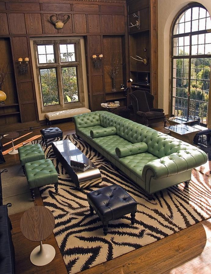 10 gorgeous leather chesterfield sofa designs you ll love rilane. Black Bedroom Furniture Sets. Home Design Ideas
