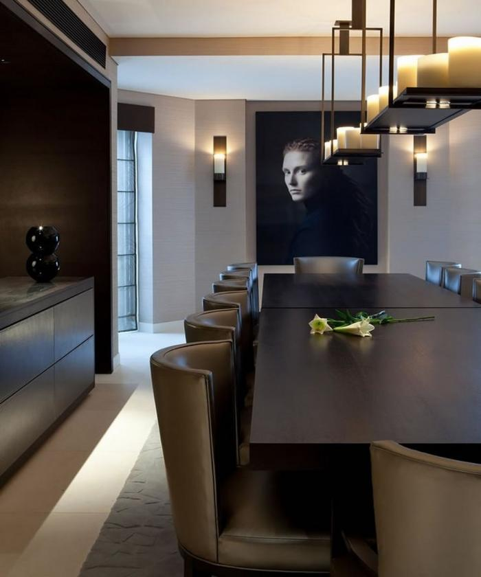 10 Sophisticated Masculine Dining Room Designs