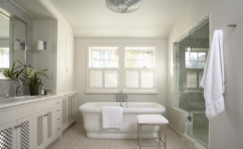 20 Refined Gray Bathroom Design Ideas