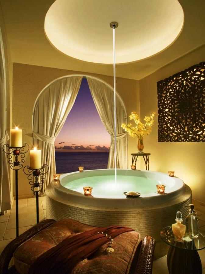 Bathroom Decorating Ideas With Candles 15 aromatic bathrooms with candle design - rilane