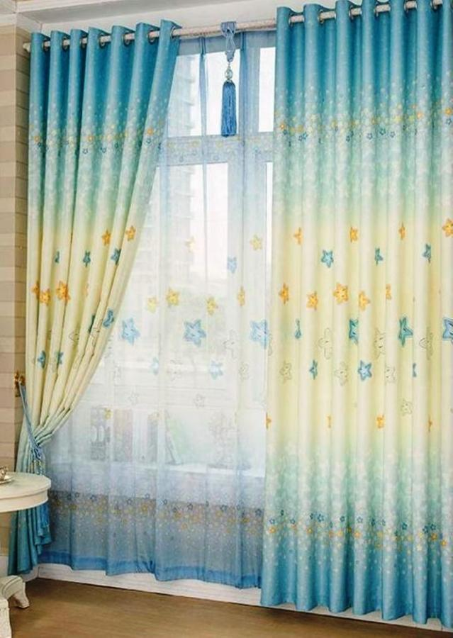 bedroom curtain design. Blue Girls Bedroom Curtain Design 10 Awesome Colorful Kid s  Rilane