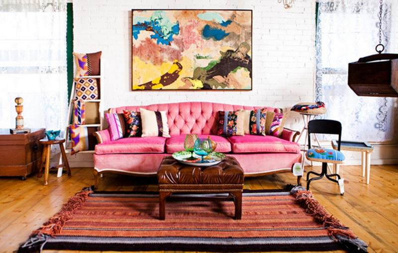 Pink Living Room Decorating Ideas. 30 extremely charming pink living ...