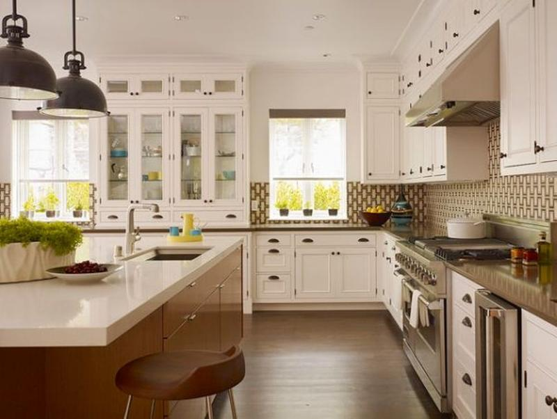 Awesome Charming L Shaped Kitchen