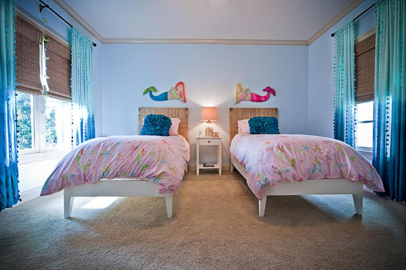 Charming Mermaid Themed Bedroom For Twins