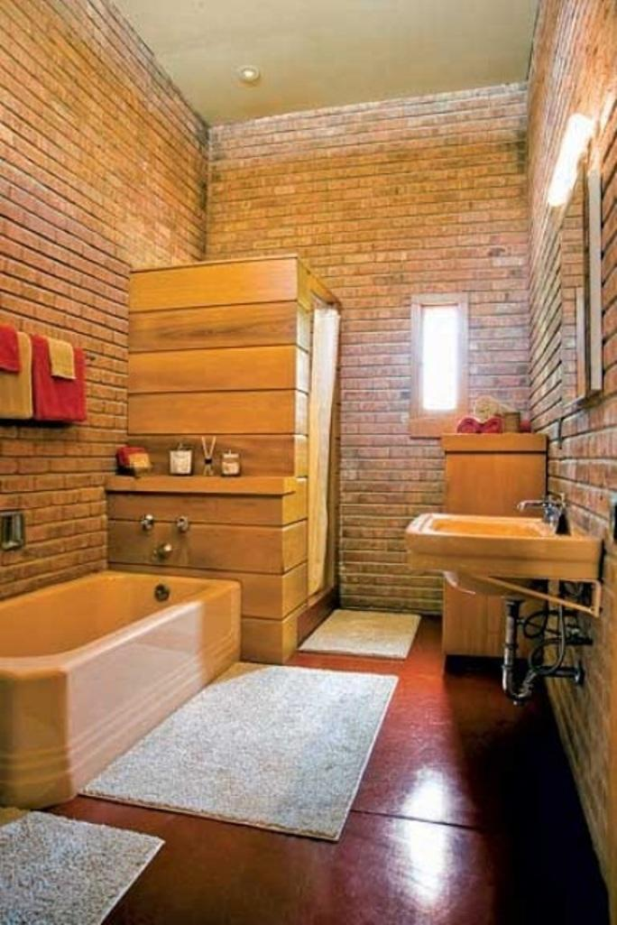 Awsome Bathrooms 20 dashingly contemporary bathroom designs with exposed brick