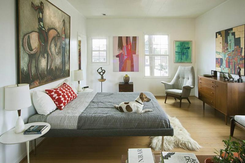 Chic Mid Century Bedroom. 18 Vivid and Chic Mid Century Bedroom Design Ideas   Rilane