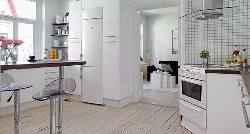 20 sleek and serene all white kitchen design ideas to inspire - rilane
