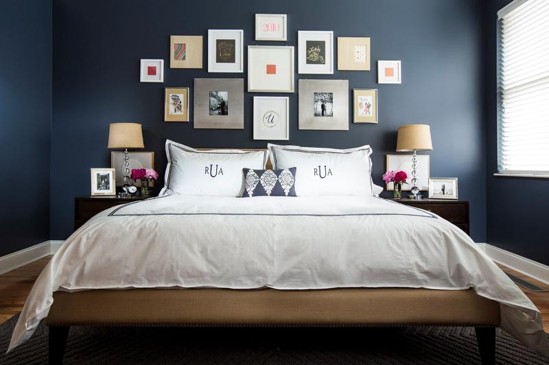 Amazing Blue Bedrooms Ideas Part - 13: 18 Vibrant Navy Blue Bedroom Design Ideas