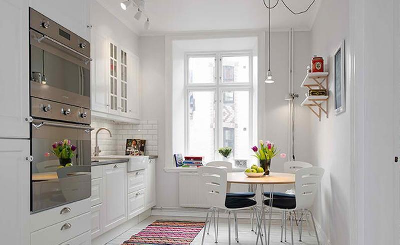 Cool All White Kitchen