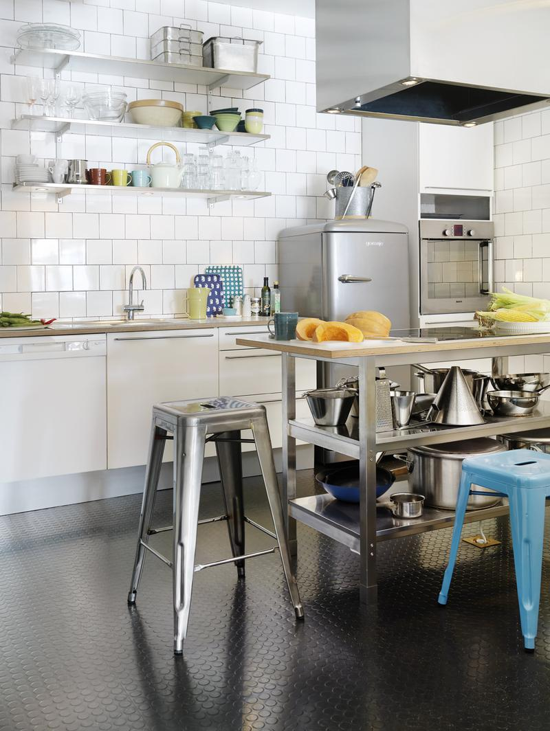 Stainless Steel Shelves 15 Dramatic Kitchen Designs With Stainless Steel Shelves Rilane