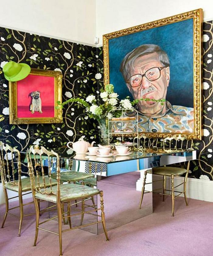 Dramatic Dining Room Design