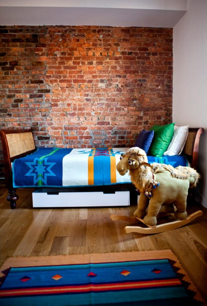 15 Amazing Kid S Bedroom Designs With Exposed Brick Walls