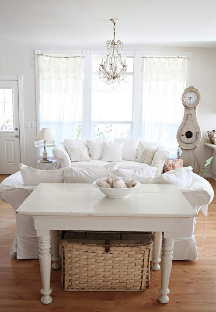 Dreamy Shabby Chic Living Room