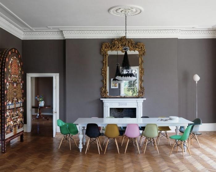 Eames Eiffel Chair 10 splendid dining room settings with eiffel chairs rilane
