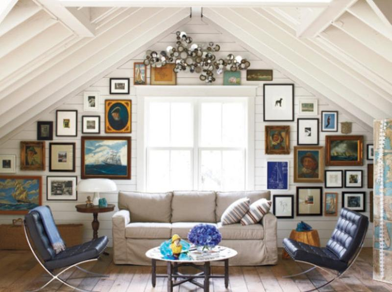 20 beautiful attic living room design ideas rilane Rustic style attic design a corner full of passion