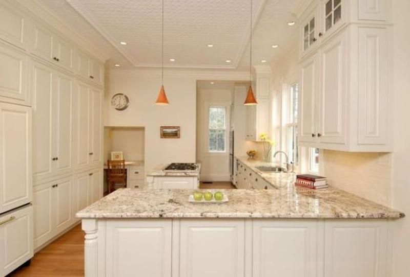 Elegant L Shaped Kitchen