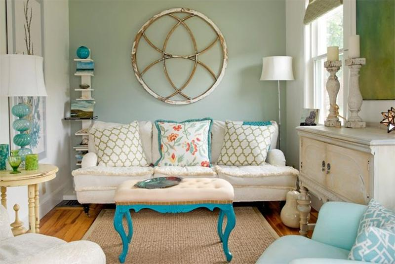 20 distressed shabby chic living room designs to inspire for Vintage chic living room ideas