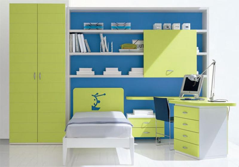 15 Cool Blue and Green Boy\'s Bedroom Design Ideas - Rilane