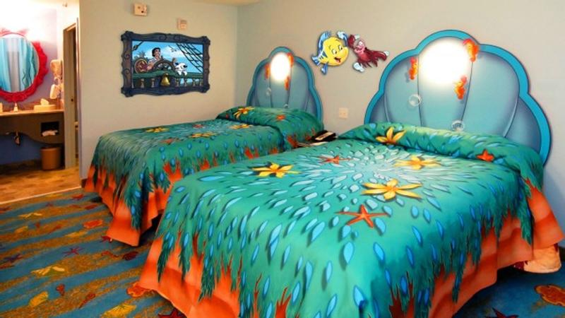 15 Dazzling Mermaid Themed Bedroom Designs for Girls - Rilane