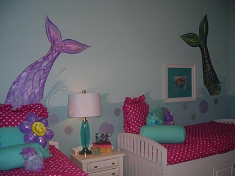 15 Dazzling Mermaid Themed Bedroom Designs For Girls Rilane